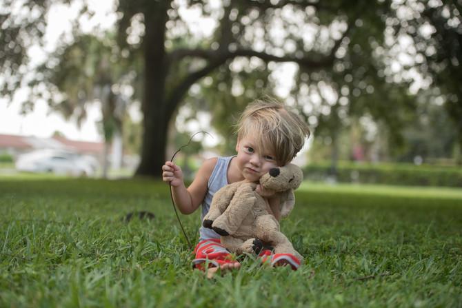 SOOC and Final Image | Stuart, FL Child Photographer