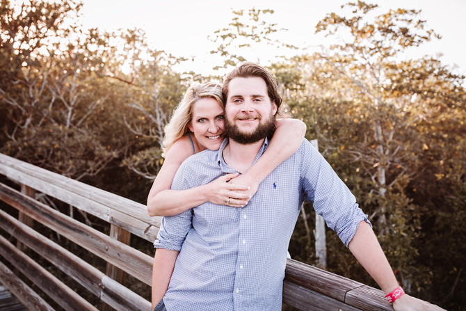 Surprise Engagement Session and the Beautiful Stuart Sunset | Engagement Photography | Stuart, FL