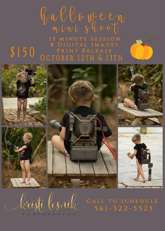Halloween Mini Sessions | Stuart, FL Family Photographer