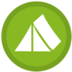 Green Tent Icon
