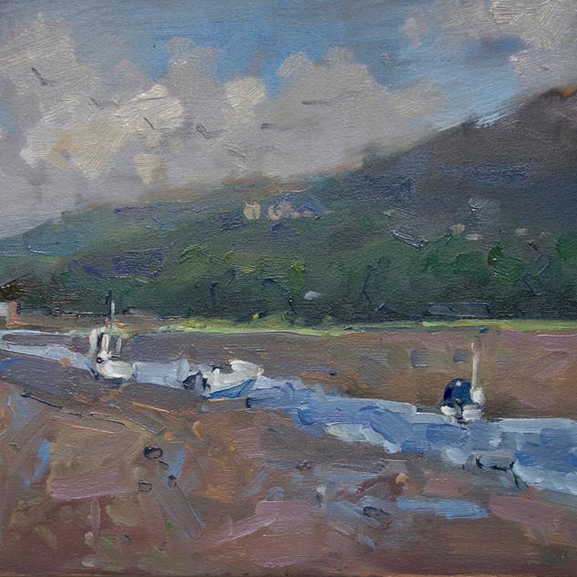 Carningli from the Nevern estuary