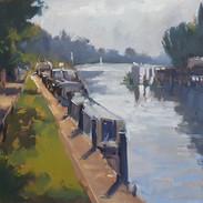 Thames at Teddington