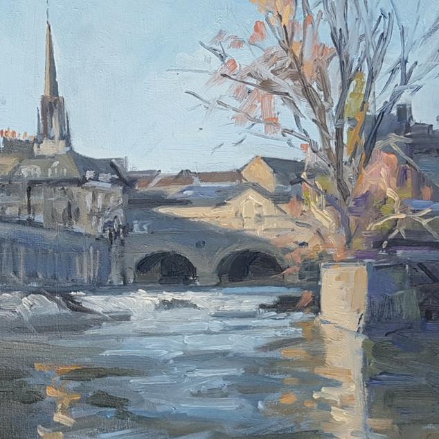 Pulteney Bridge and Weir