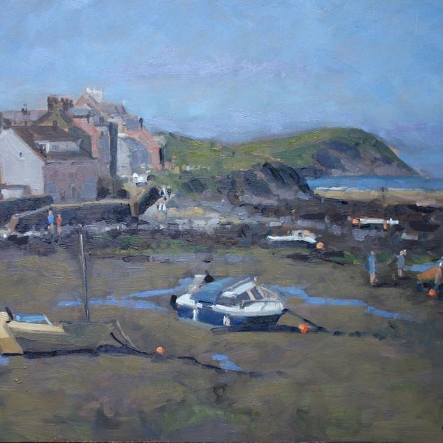 Summer morning, The Parrog, Newport