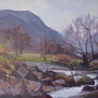 River Derwent towards Glaramara