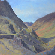 Spring morning, Honister Pass