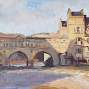 Pulteney Bridge, sunny afternoon