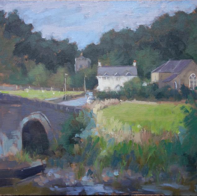 Nevern bridge and Church