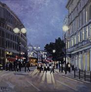 Evening Rush, The Strand