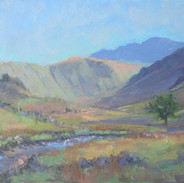 Langstrath Valley, Afternoon Sun