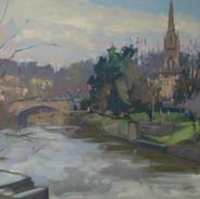 The Avon from Pulteney Bridge