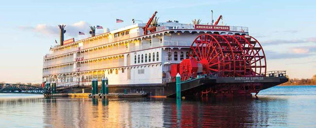 American Queen Steamboat Company - American Empress Earlybird 2022   Copy