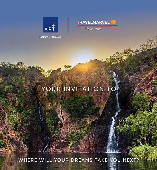 APT Travelmarvel Travel Showcase Invitation
