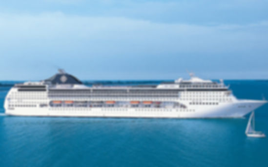 MSC Cruises Southern Africa to Venice