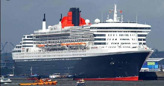 Cunard 2 Queens New York to Greece & Gondolas