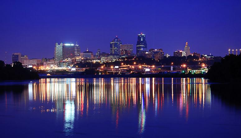 A view of the Kansas City Skyline Downto