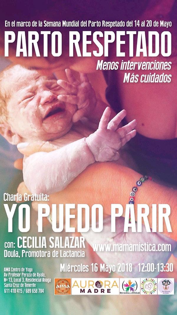 Semana Mundial del Parto Respetado 2018 Mamá Mística