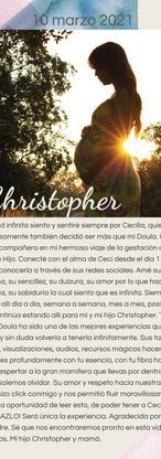 Adri y Christopher