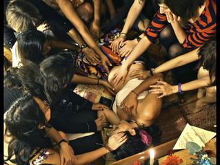 El círculo de bendiciones: Ceremonia prenatal.
