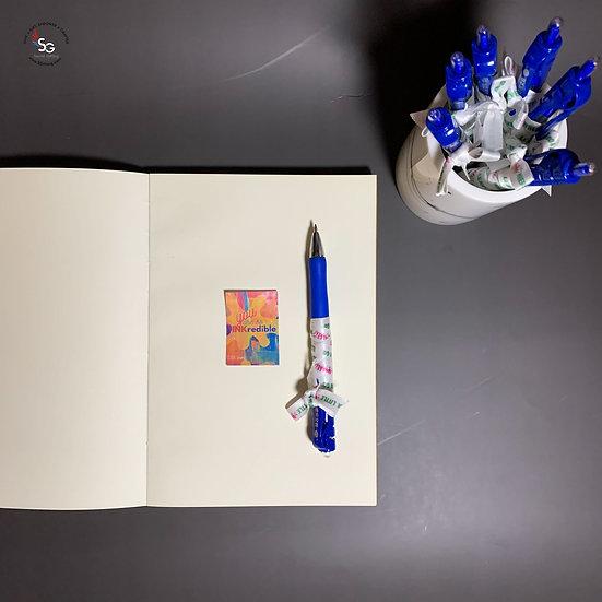 You are so Inkredible Blue Gel Pen