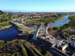 Obras Puente Treng Treng Kai Kai