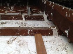 Repair of Sagging Ceiling After