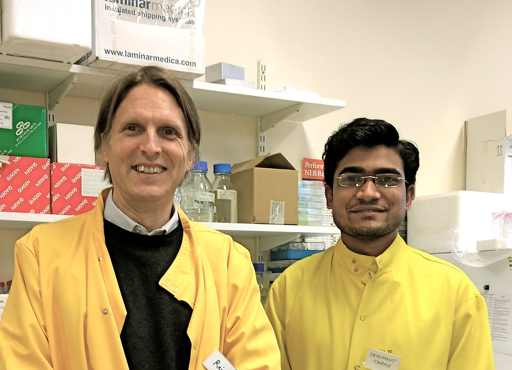 it was a pleasure to have Prashant Tarale in the lab