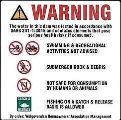 Welgevonden Dam Warning.webp