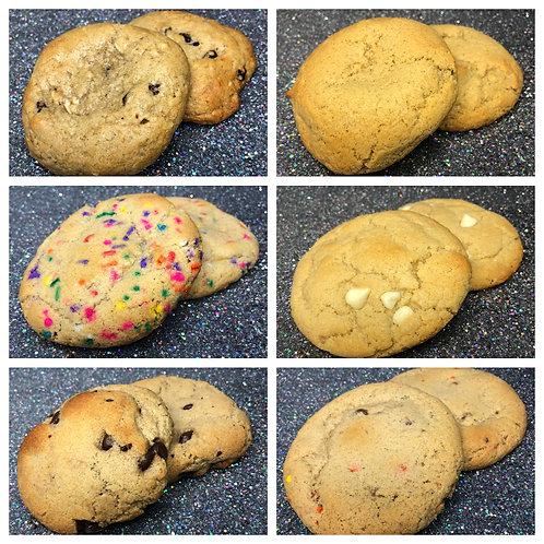 Nikki B's Sampler 6-Pack (12 cookies)