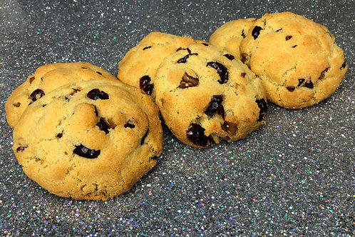 "Cranberry Orange ""The Erica""  6-Pack (12 cookies)"