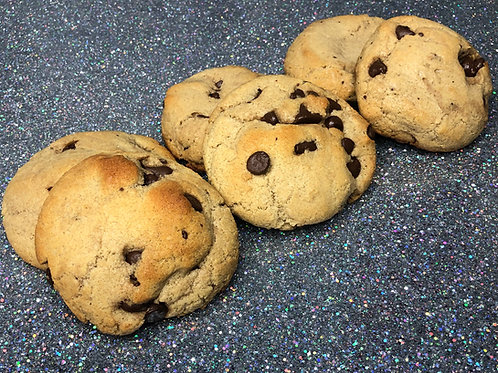 """Chocolate Chip """"The Beau Quintana"""" 6-Pack (12 cookies)"""