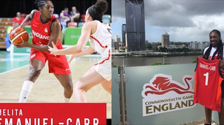 Melita Emanuel-Carr got the silver medal at the Gold Coast Commonwealth Games