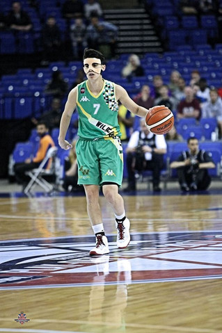 Joana Ferreira second classified in the championship of United Kingdom in the WBBL