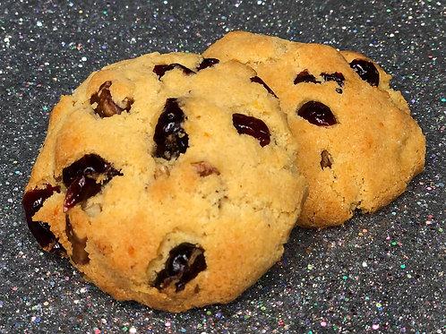 "Cranberry Orange ""The Erica""  1-Pack (2 cookies)"