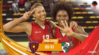 Club Desportivo 1º da Agosto of Leia Dongue & Alicia Devaughn CHAMPIONS OF FIBA AFRICA WOMEN´S C