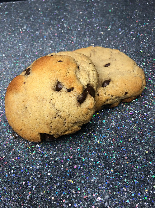 """Chocolate Chip """"The Beau Quintana""""1-Pack (2 cookies)"""
