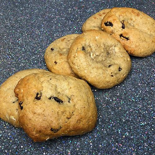 "Oatmeal Raisin ""The Judge"" 6-Pack (12 cookies)"