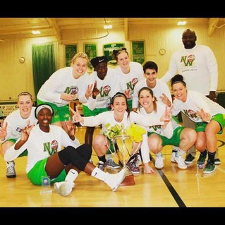 Nottingham Wildcats with Joana Ferreira has finished first of Regular Season in the WBBL