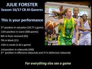 JULIE FORSTER (The Player)