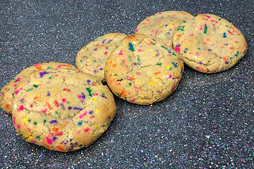"""Funfetti """"The Cienne"""" 6-Pack (12 cookies)"""