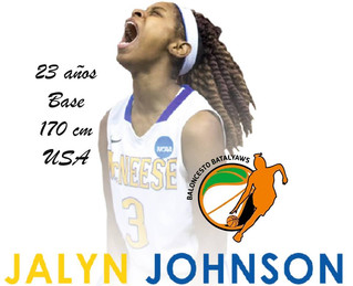 JALYN JOHNSON firma por Baloncesto BATALYAWS