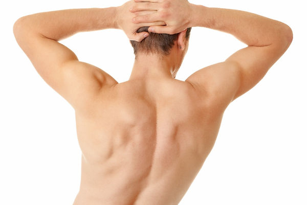 Laser Hair Removal Male Hairless Back