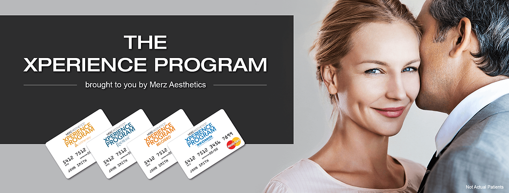 Merz Aesthetics Xperience Program Banner