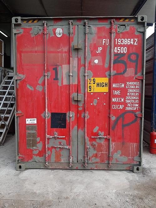 Container 20 pies maritimo