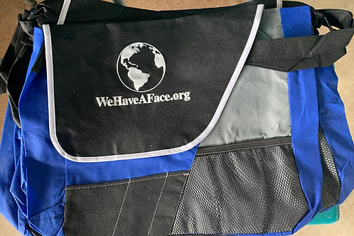 WeHaveAFace.org Carry Bags