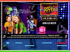 Juegos Interactivos en pantalla Gigante, total black-out, preguntados, tattoo, Dar la Nota, Disco Fluo, 3D, minuto para ganar 3, nintendo wii, karaoke, cantobar, pictionary virtual, robot de led, laser show, total black out, avatar interactivo