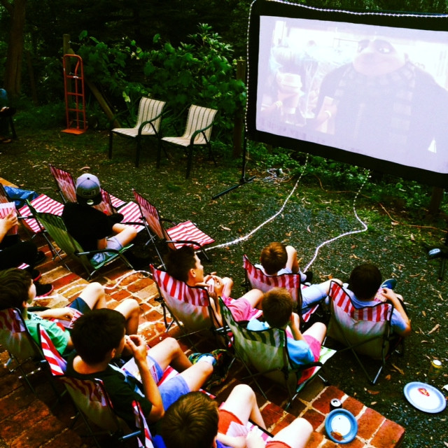 Your place your rules Backyard Movie nig