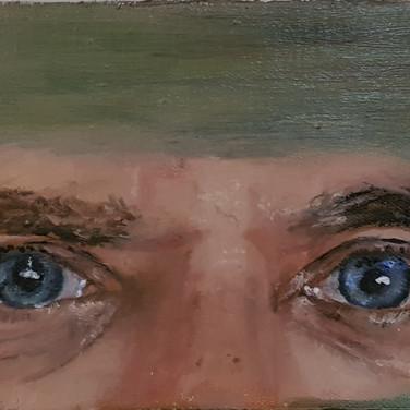 Ron's eyes