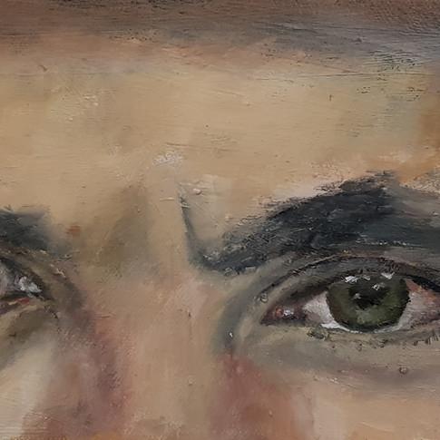 Omer's eyes
