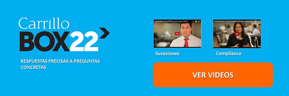 videos explicativos sucesiones compliance